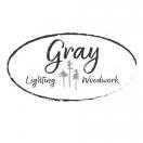 Gray Lighting & Woodwork